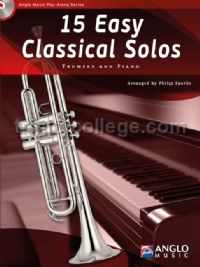 15 Easy Classical Solos for Trumpet (+ CD)