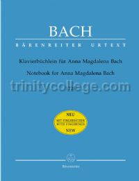Notebook for Anna Magdalena Bach 1725