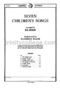 7 Children's Songs Unison