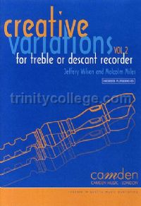 Creative Variations for for Treble or Descant Recorder vol.2 (Book & CD)