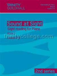 Sound at Sight - Piano, Book 2: Grade 3-4