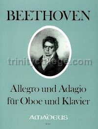Allegro and Adagio for oboe and piano