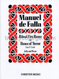 Ritual Fire Dance and Dance of Terror (from El Amor Brujo) - cello & piano