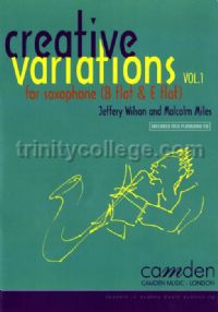 Creative Variations for Saxophone vol.1 (Book & CD)