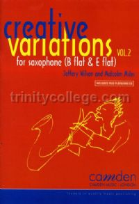 Creative Variations for Saxophone vol.2 (Book & CD)