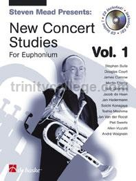 New Concert Studies for Euphonium 1 (Book & CD)