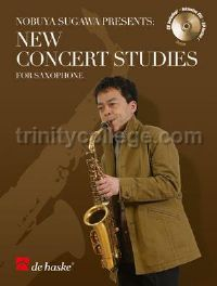 New Concert Studies for Saxophone (Book & CD)