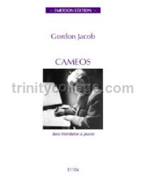 Cameos for bass trombone & piano