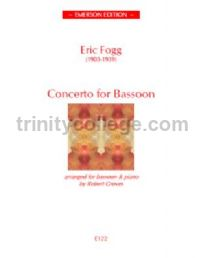 Concerto for Bassoon -  bassoon & piano