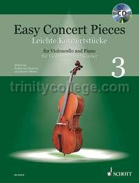 Easy Concert Pieces 3 - cello and piano (+ CD)