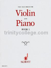 First Solo Pieces For Violin & Piano Book 1