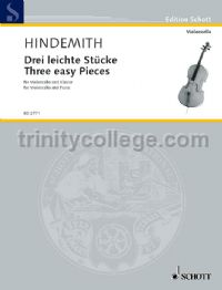 3 Easy Pieces for cello & piano