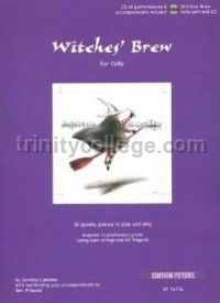 Witches Brew for cello & piano (Book & CD)