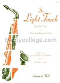 The Light Touch Book 2 for Alto Saxophone & Piano