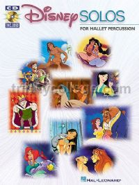 Disney Solos for Mallet Percussion (+ CD)