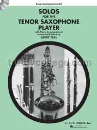 Solos for the Tenor Saxophone Player (+ CD)