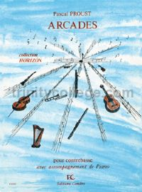 Arcades - double bass & piano