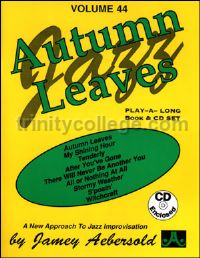 Autumn Leaves (+ CD) (Jamey Aebersold Jazz Play-along)
