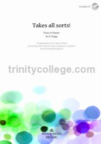 Takes All Sorts! for flute & piano (with CD)