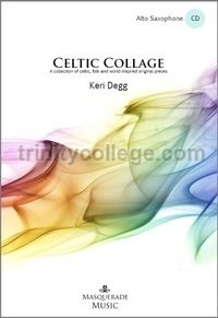 Celtic Collage for alto saxophone & piano (with CD)