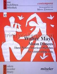 Moon Dances: Three Native American Sketches for Alto Recorder Solo