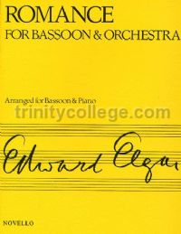 Romance For Bassoon And Orchestra (Bassoon & Piano)