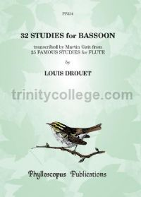32 Studies for Bassoon