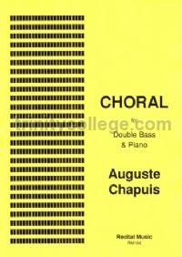 Choral for double bass & piano