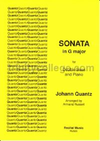 Sonata in G major for double bass & piano