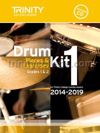 Drum Kit 1 (Grades 1 & 2) with CD 2014-2019