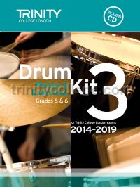 Drum Kit 3 (Grades 5 & 6) with CD 2014-2019