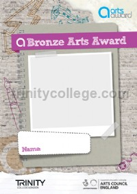 Arts Award Bronze Arts Log A4 - pack of 5