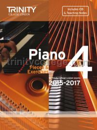 Piano Exam Pieces & Exercises 2015-2017, Grade 4 with CD and Teaching Notes