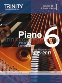 Piano Exam Pieces & Exercises 2015-2017, Grade 6 with CD and Teaching Notes
