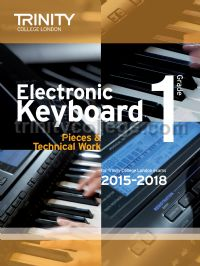 Electronic Keyboard Exam Pieces & Technical Work 2015-18, Grade 1
