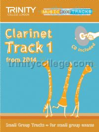 Small Group Tracks - Clarinet Track 1 (+ CD)