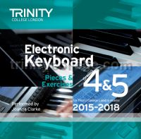 Electronic Keyboard Exam Pieces 2015-18, Grades 4 & 5 (CD only)