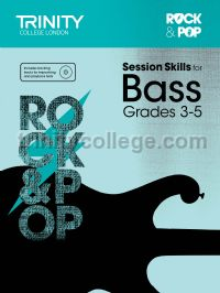 Rock & Pop Session Skills for Bass, Grades 3–5 (+ CD)