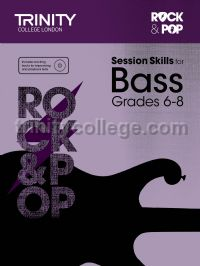 Rock & Pop Session Skills for Bass, Grades 6–8 (+ CD)