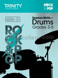 Rock & Pop Session Skills for Drums, Grades 3–5 (+ CD)