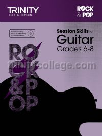Rock & Pop Session Skills for Guitar, Grades 6–8 (+ CD)