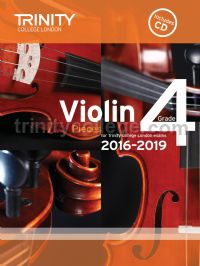Violin Exam Pieces Grade 4, 2016-2019 (score, part & CD)