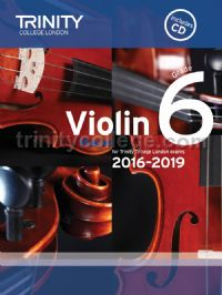Violin Exam Pieces Grade 6, 2016-2019 (score, part & CD)