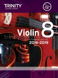 Violin Exam Pieces Grade 8, 2016-2019 (score, part & 2 CDs)