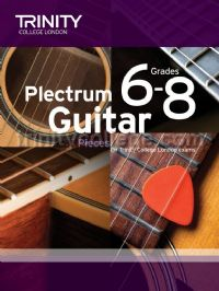 Plectrum Guitar Pieces Grades 6-8