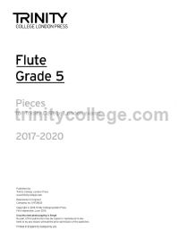 Flute Exam Pieces Grade 5, 2017–2020 (part only)