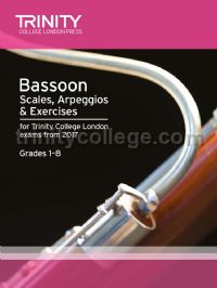 Bassoon Scales, Arpeggios & Exercises Grades 1–8, from 2017