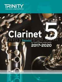 Clarinet Exam Pieces Grade 5, 2017–2020 (score & part)