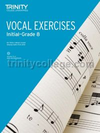 Vocal Exercises 2018 Initial - Grade 8 (Book & CD)
