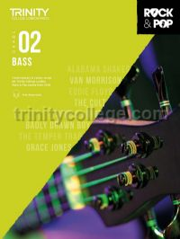 Trinity Rock & Pop 2018 Bass Grade 2